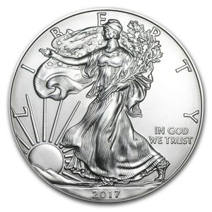 United States / Silver Ounce 2017 American Eagle - reverse photo