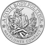 United States / Mayflower 400th Anniversary Silver Medal 2020 / Reverse Proof - obverse photo