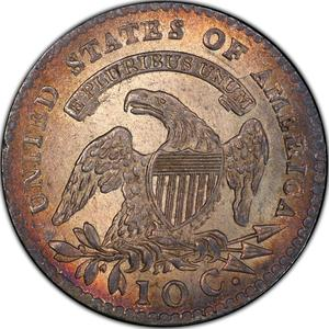 United States / One Dime 1809 Capped Bust - reverse photo