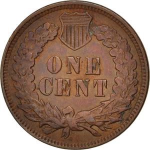 United States / One Cent 1905 Indian Head - reverse photo