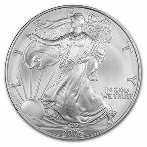 United States / Silver Ounce 2006 American Eagle - reverse photo