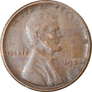 United States / One Cent 1923 Wheat Penny - obverse photo