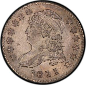 United States / One Dime 1811 Capped Bust - obverse photo