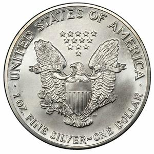 United States / Silver Ounce 1989 American Eagle - obverse photo