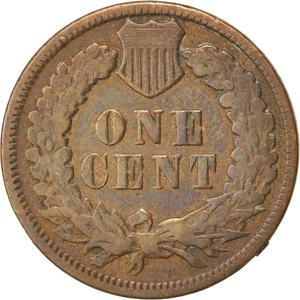 United States / One Cent 1894 Indian Head - reverse photo