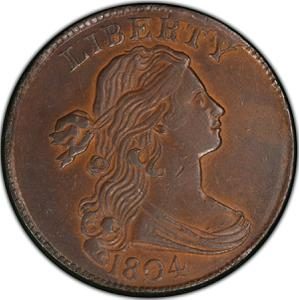 United States / One Cent 1804 Draped Bust - obverse photo