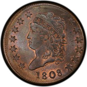 United States / One Cent 1808 Classic Head - obverse photo