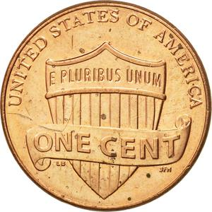 United States / One Cent 2014 Union Shield - reverse photo