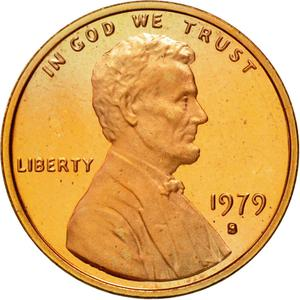 United States / One Cent 1979 Lincoln Memorial - obverse photo