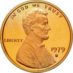 United States / One Cent 1979 Lincoln Memorial / Proof (San Francisco) - obverse photo