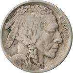 United States / Five Cents 1913 Buffalo Nickel / Flat ground (Philadelphia Mint) - obverse photo