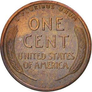 United States / One Cent 1916 Wheat Penny - reverse photo