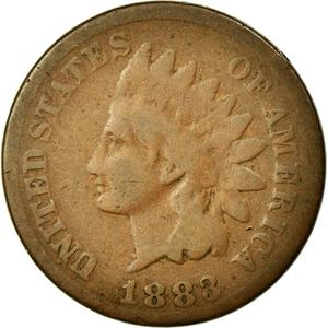 United States / One Cent 1883 Indian Head - obverse photo