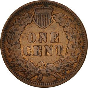 United States / One Cent 1897 Indian Head - reverse photo