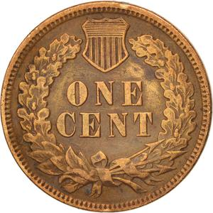 United States / One Cent 1880 Indian Head - reverse photo