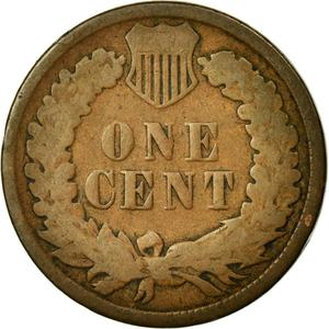 United States / One Cent 1883 Indian Head - reverse photo