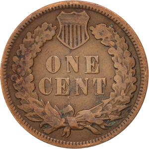 United States / One Cent 1903 Indian Head - reverse photo