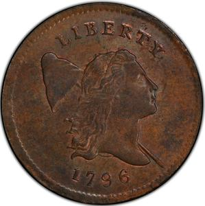 United States / Half Cent 1796 Liberty Cap - obverse photo