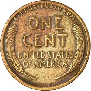United States / One Cent 1911 Wheat Penny - reverse photo