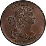 United States / One Cent 1803 Draped Bust / 1/100 on 1/000 - obverse photo