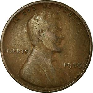 United States / One Cent 1930 Wheat Penny - obverse photo
