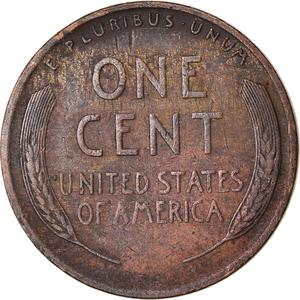 United States / One Cent 1925 Wheat Penny - reverse photo