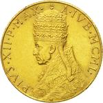 Vatican / One Hundred Lire 1950 Gold - obverse photo
