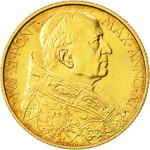 Vatican / One Hundred Lire 1932 Gold - obverse photo
