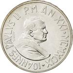 Vatican / One Thousand Lire 1999 - obverse photo
