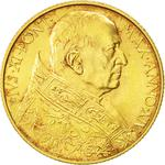 Vatican / One Hundred Lire 1935 Gold - obverse photo