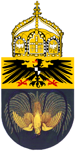 Coat of Arms of of New Guinea, German