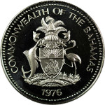 Coin Legend: COMMONWEALTH OF THE BAHAMAS [year]